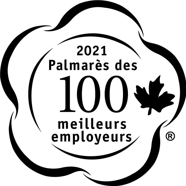 Palmarès2021 des 100 meilleurs employeurs