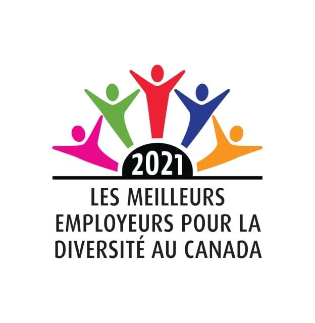Meilleurs employeurs pour la diversité au Canada2021