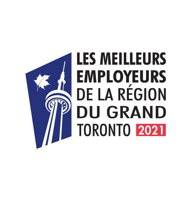 Meilleurs employeurs du Grand Toronto en 2021