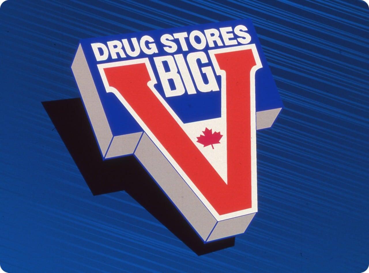 Big V drug stores logo